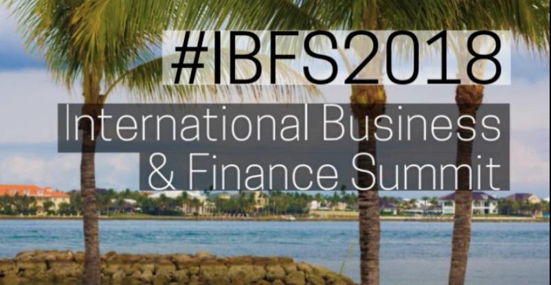 BFSB To Host Annual International Business & Finance Summit (IBFS)